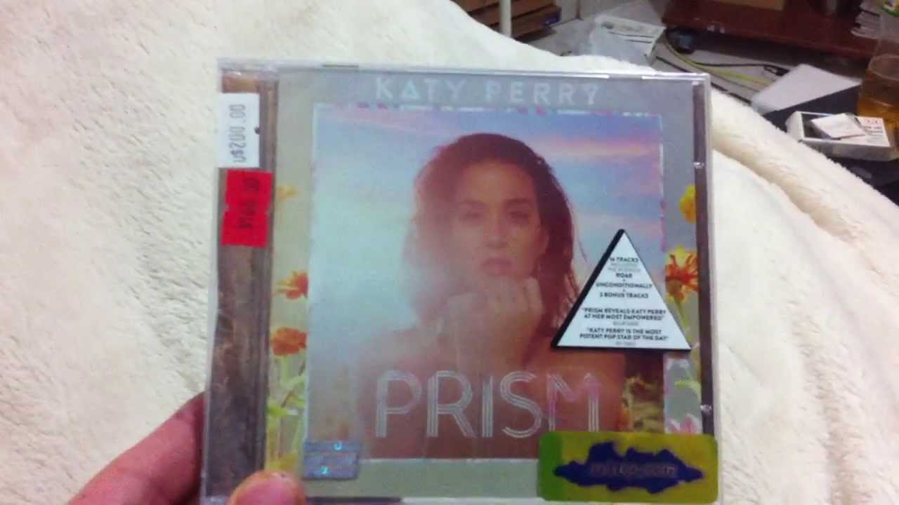 Katy Perry - Prism (deluxe) Unboxing - YouTube