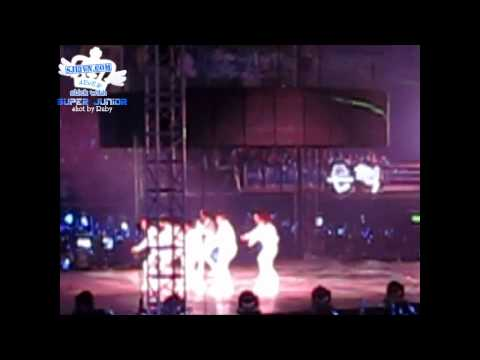 [SJ13VN][fancam]100828 Super Show III - QingDao - Super Junior - Super Girl ( SJ ver.)