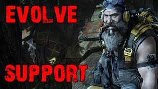 Evolve Big Alpha Gameplay Walkthrough Playthrough Part 3: The Support (PC)