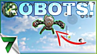 ROBOTS ARE COMING! FLY AND TELEPORT ALL OVER THE MAP!! | Rules of Survival