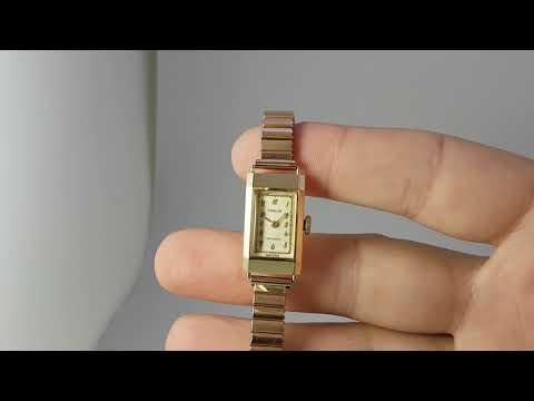 1948 Ladies Marvin Baguette Vintage Watch With 9k Gold Dennison Case