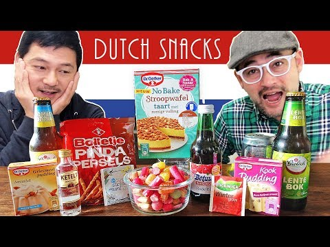 Japanese Trying More Dutch Food & Snacks