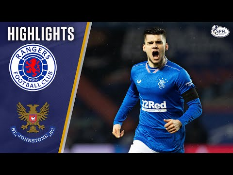 Rangers St. Johnstone Goals And Highlights