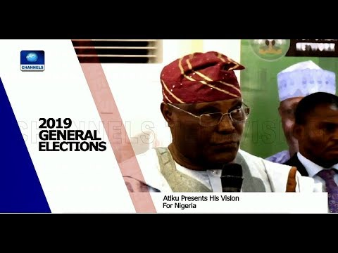 Atiku Presents His Vision For Nigeria 30/01/19 Pt.1 |News@10|