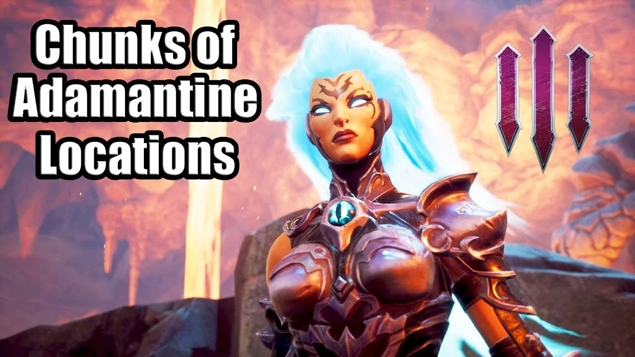 DARKSIDERS 3 - Chunks of Adamantine Locations   Purity of Power  Trophy/Achievement Guide
