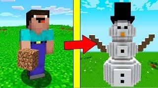 Как сделать в майнкрафте снеговика мутанта фото 433