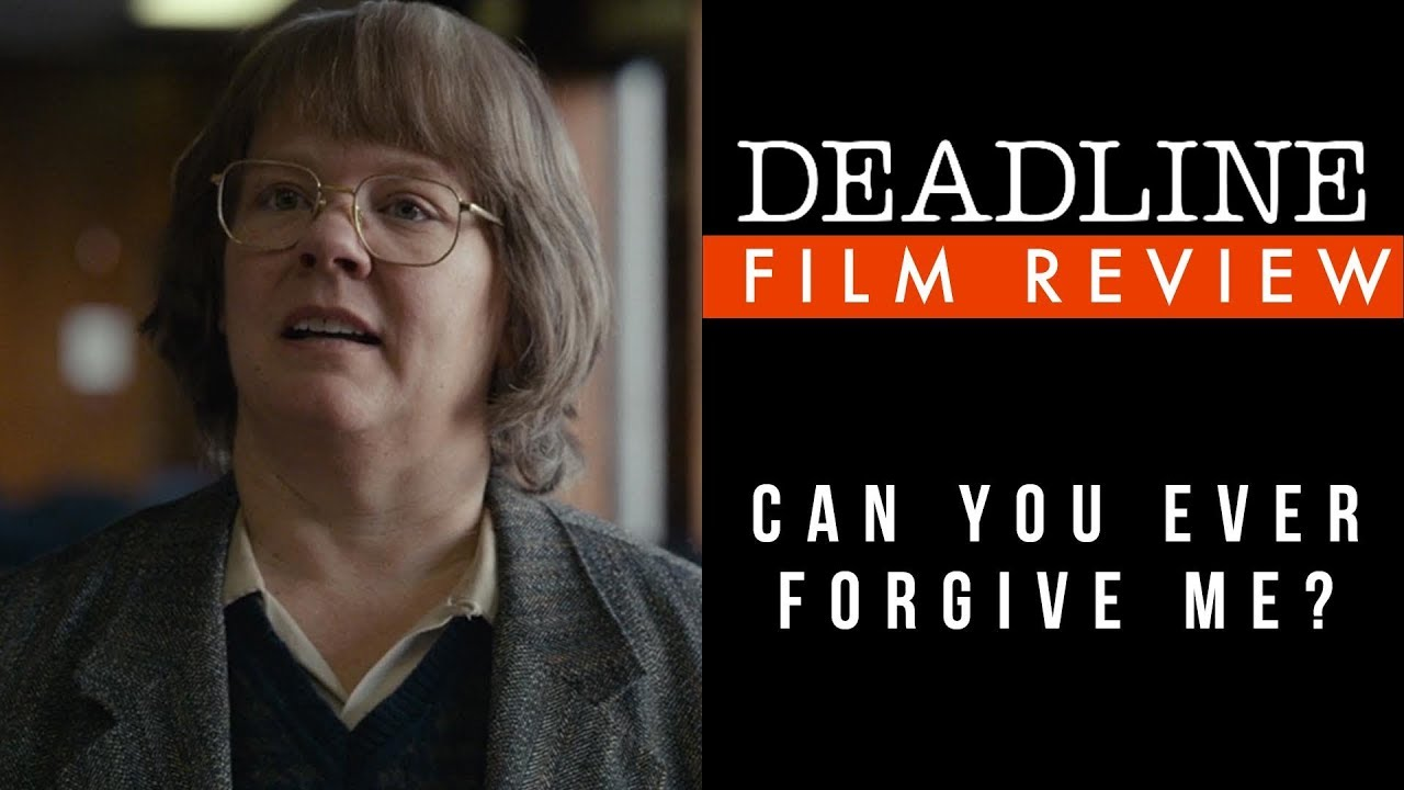 'Can You Ever Forgive Me?' Review - Melissa McCarthy, Richard E  Grant