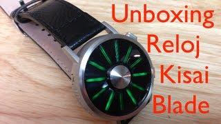 Reloj futurista Kisai Blade de Tokyoflash