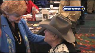Celebrities At The Hollywood Collectors & Celebrity Show.