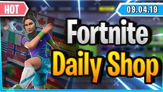 Fortnite Daily Shop *HOT* FUSSBALL SKINS WIEDER DA (9 April 2019)