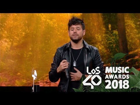 Pablo López gana con 'El Patio' un Los40 Music Awards a mejor canción nacional