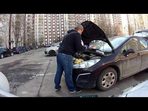 ГРМ Пежо 308  #2 Двигатель EP6  Замена электромагнитных клапанов изменения фаз ГРМ