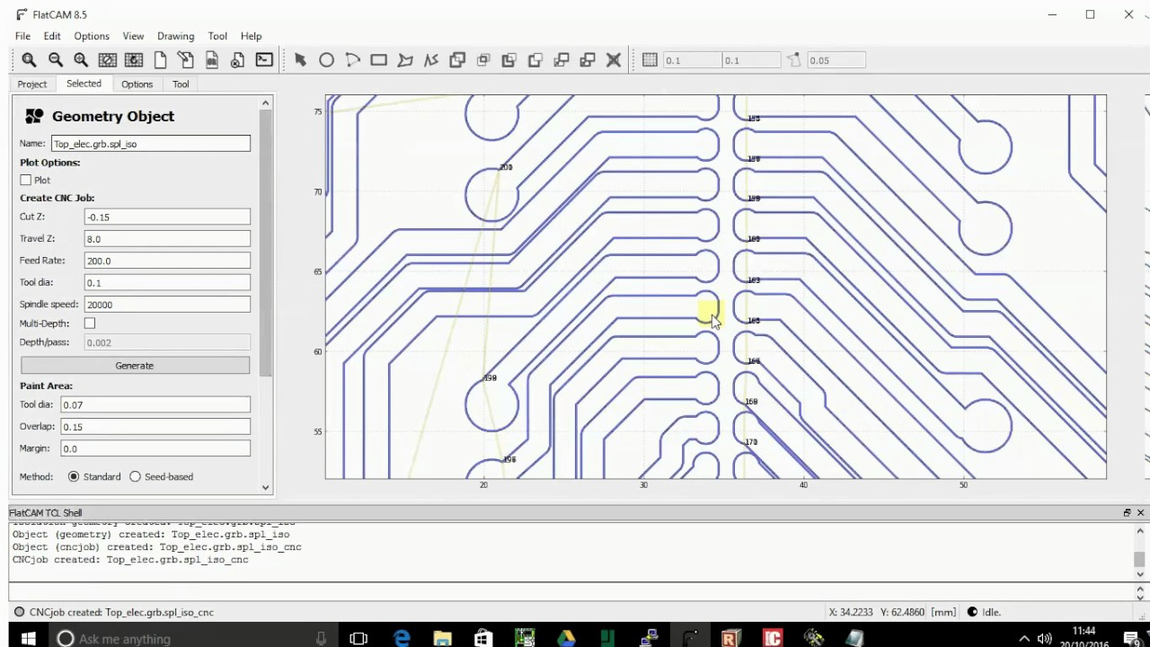 Milling PCBs with free software    What's out at the moment?