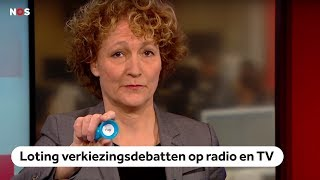 LIVE: Loting verkiezingsdebatten op radio en TV