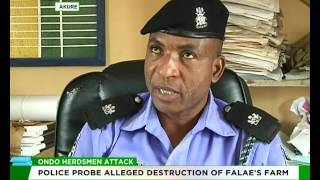 Ondo Police probe alleged herdsmen attack on Olu Falae's farm