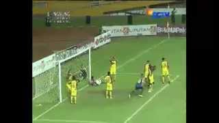 Video gol Sriwijaya vs Arema 0-1 Final SCM/SCTV Cup 2015 - 27 Januari 2015
