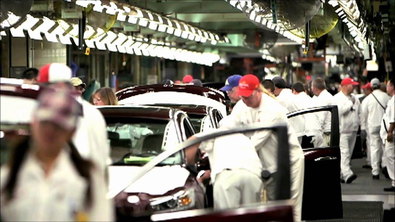 Honda Accord Factory In Marysville Ohio