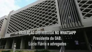 Presidente da OAB/GO é alvo de gravação clandestina na sua própria sala