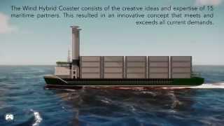 ECO FLETTNER - a sailing machine