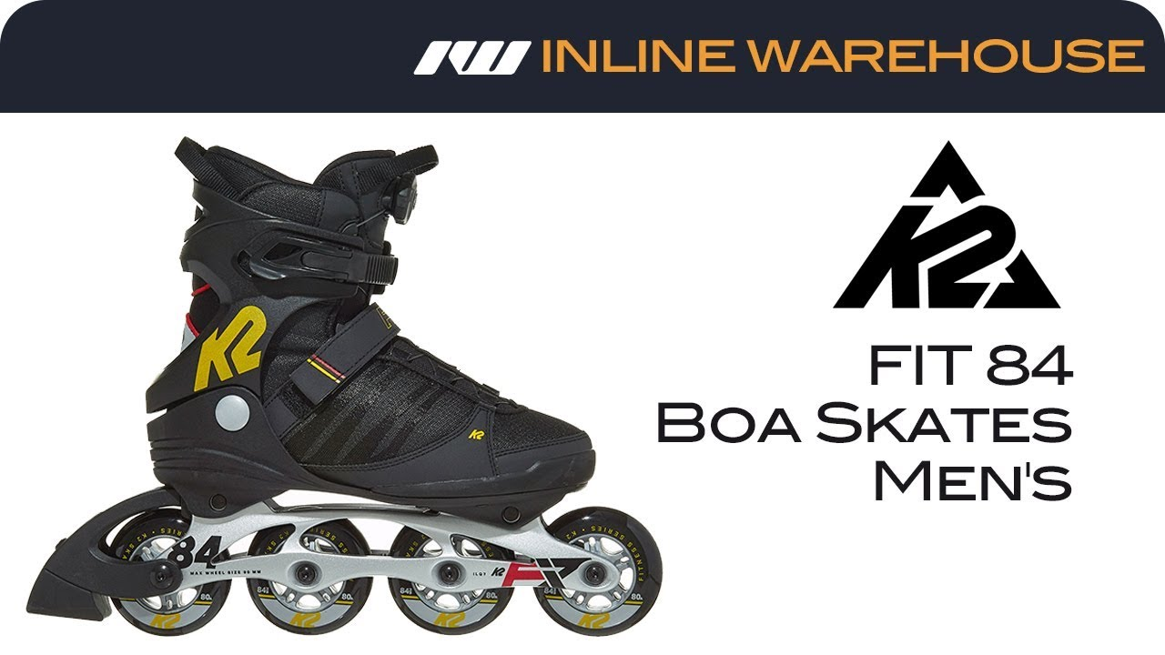 K2 F.i.t 84 Boa Inline Skates