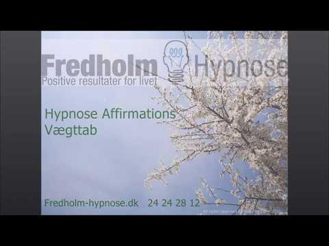 Tabe sig med Hypnose Affirmationer - YouTube