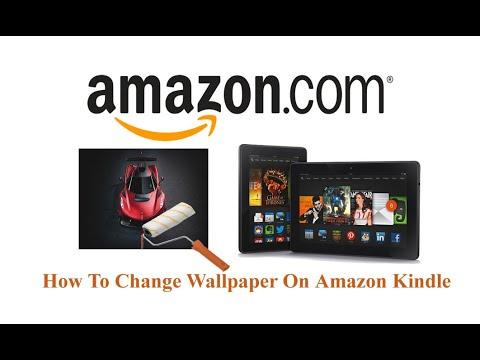 How To Change Wallpaper On Amazon Kindle