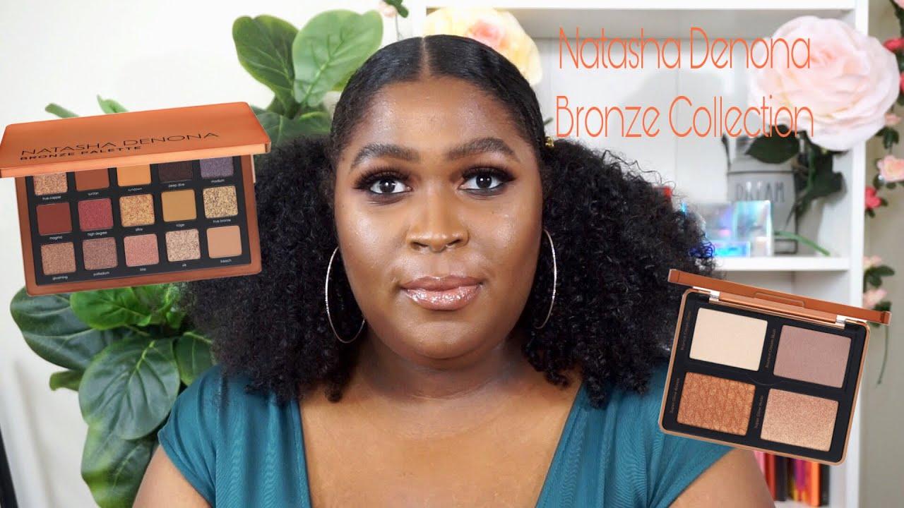 Natasha Denona Bronze Collection | 3 Looks on Dark Skin | This Is Black Beauty