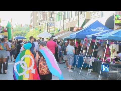 Hundreds enjoy OUTfest in Downtown Lafayette