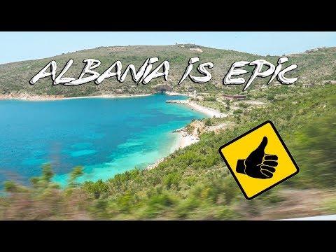ALBANIA IS INCREDIBLE!!!!! Hitchhiking to Himara & Saranda