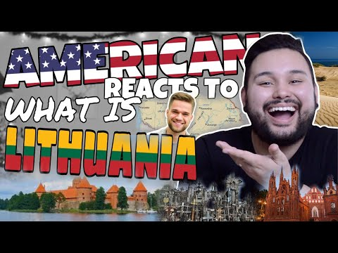 American REACTS  What Is Lithuania