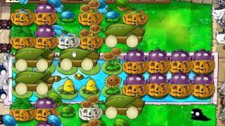 plantas vs zombis supervivencia infinita banderas 1 a 20