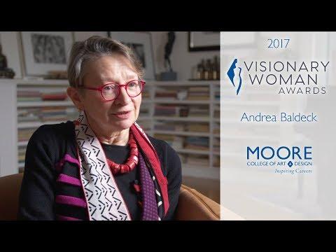 2017 MOORE VISIONARY WOMAN ANDREA BALDECK