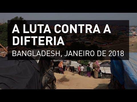 Bangladesh: a luta contra a difteria