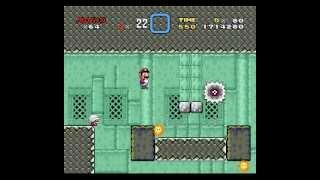 Super Mario World Custom Level: Electrical Center