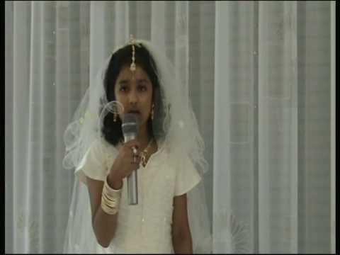 holy communion speech