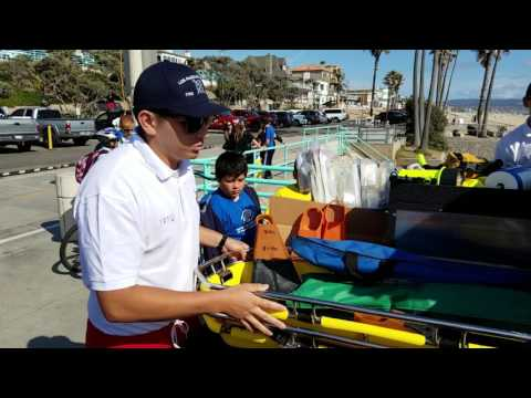 Learning About LA Fire Department Lifeguard Equipment