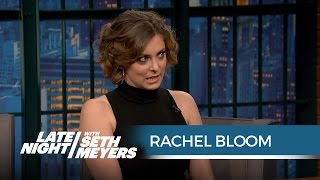 Rachel Bloom Used to Be Seth's Intern - Late Night with Seth Meyers