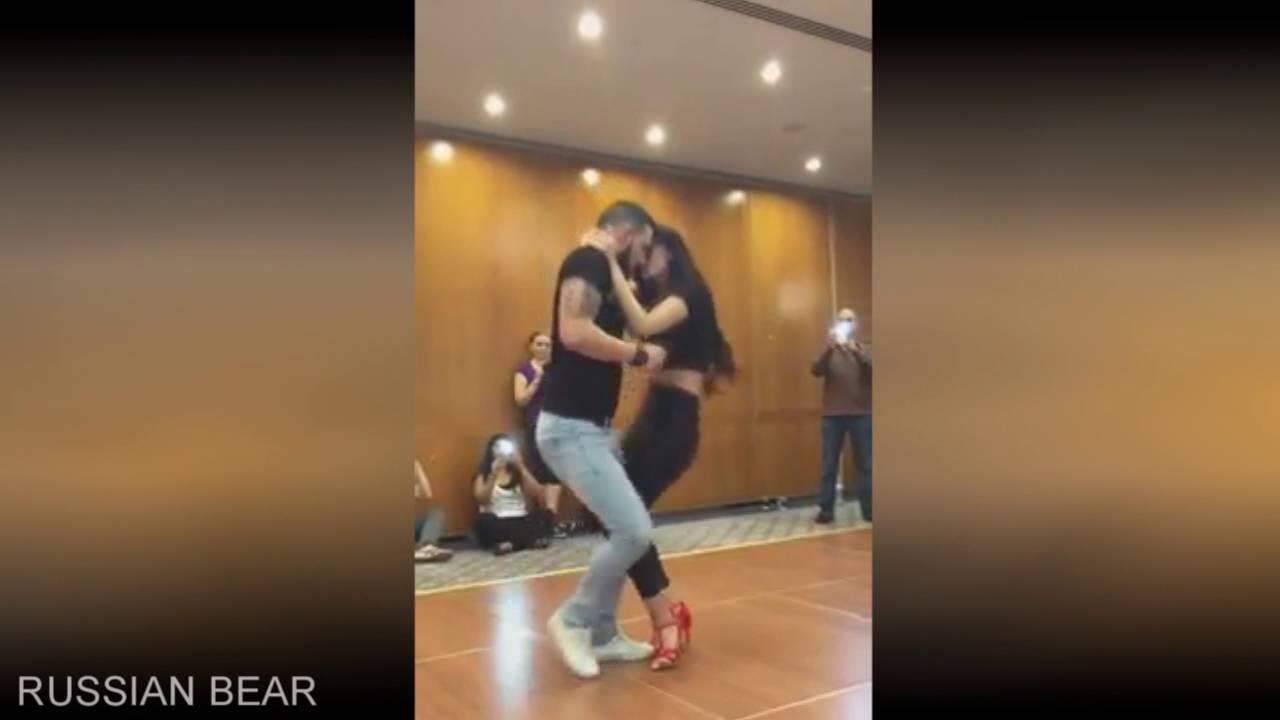 Русская пара красиво танцует фото 313-173