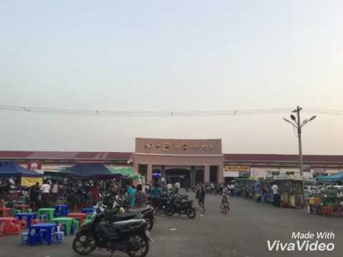 Thabyegon Market, Nay Pyi Taw