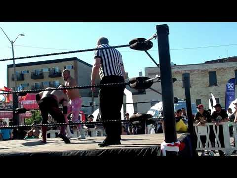 THE WRESTLING SHOW IN BARRIE ONTARIO ON CANADA DAY 2019
