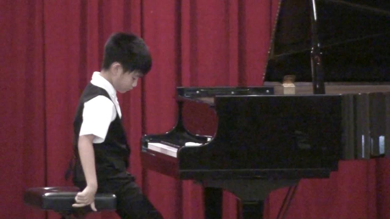 108學年度全國音樂比賽高雄市初賽-國小鋼琴12號 - YouTube