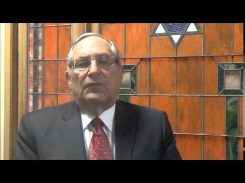 Mr. Eric Rothner speaking at Fasman Yeshiva High School Beis Midrash Dedication