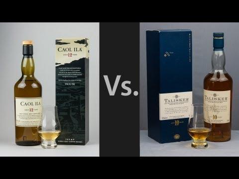 Whisky Video 19: Caol Ila 12 Vs Talisker 10