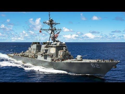 USS Fitzgerald collides with a merchant ship