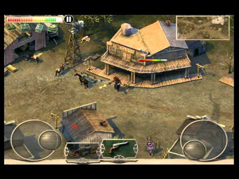 [iPhone game]Cowboys & Aliens - Silver City Defense play video