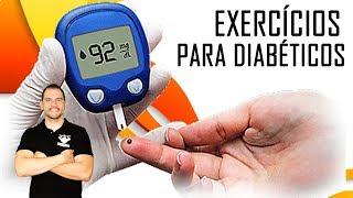 Exercício o doente se sentindo diabetes após