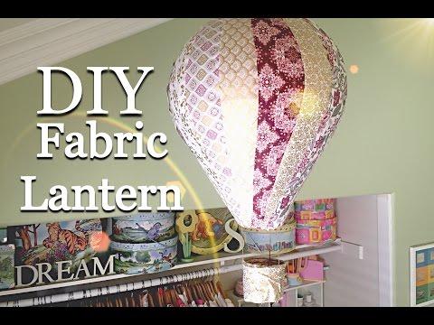 Fabric Covered Hot Air Balloon