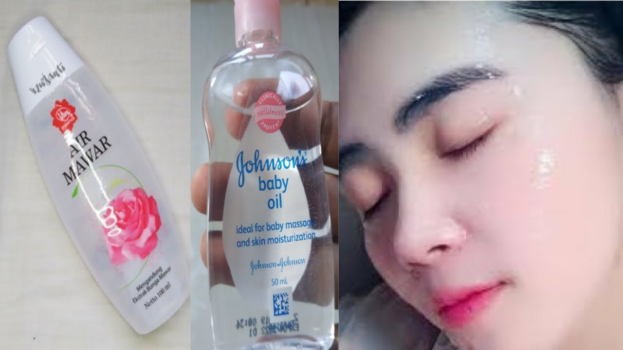 Gunakan Rutin Tiap Malam Bikin Wajah Putih Bersinar Seperti Kaca Youtube Minyak Bayi Produk Makeup Masker Wajah Buatan Rumah