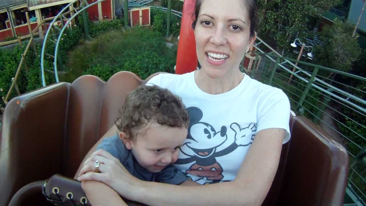 2 Year Old Jacob Thought He Wanted To Ride Disney\'s Magic Kingdom ...
