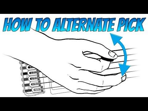 How to Alternate Pick: Beginner's Guide